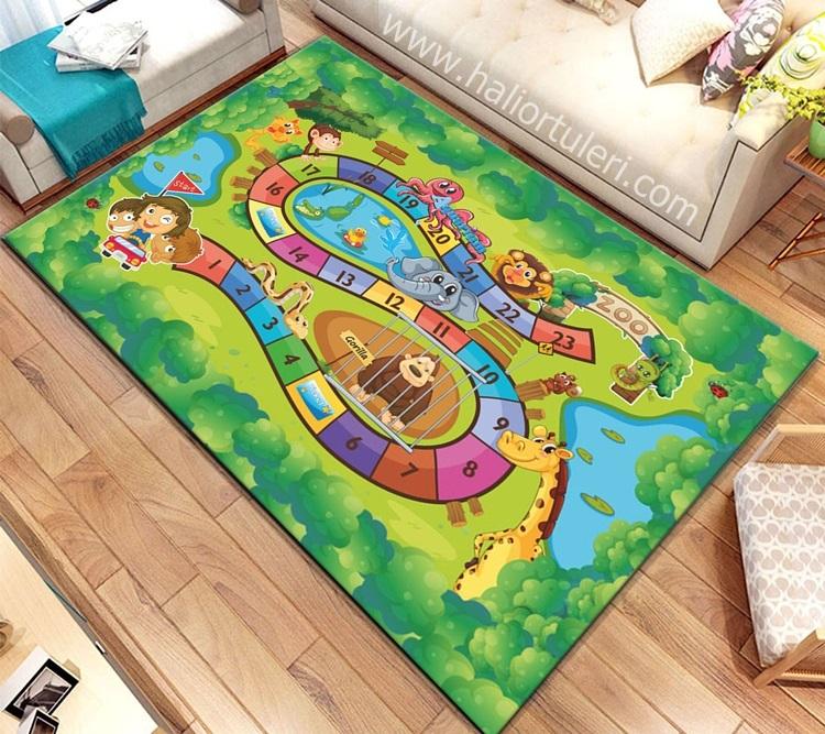 Çocuk Odası Halı Örtüsü - CMR313